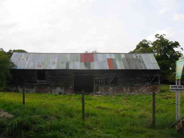 "Derelict barn for sale  ""for renovation"""