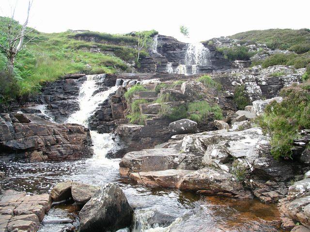 Waterfall, Allt Leacach