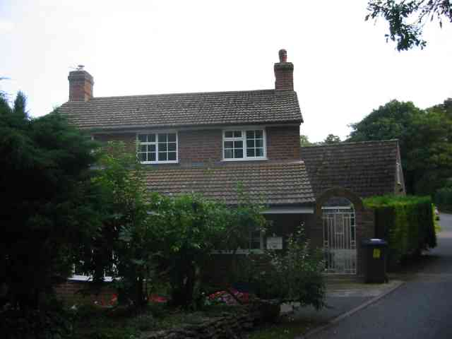 Cottage  in lane leading to Preston
