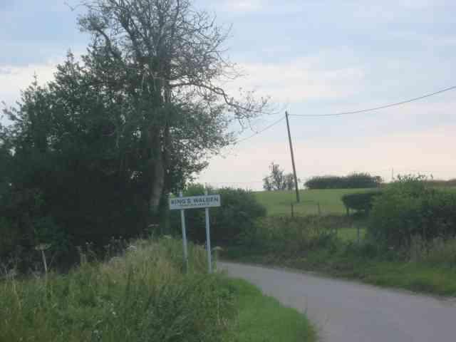 Village sign for Kings Walden
