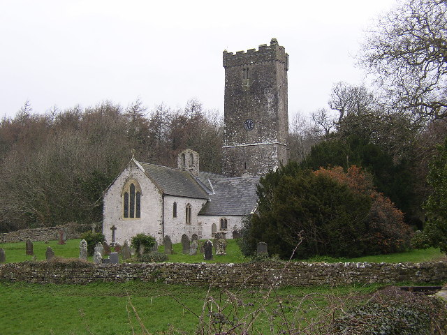 Lawrenny Church