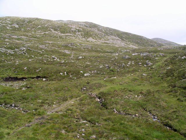 Source of the Allt na h-Ighine