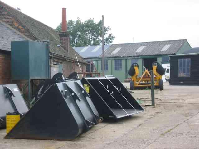 Farm Machinery depot at Wandon End