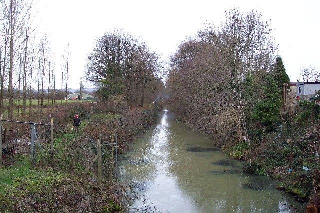 The Wey & Arun Canal at Compasses Bridge