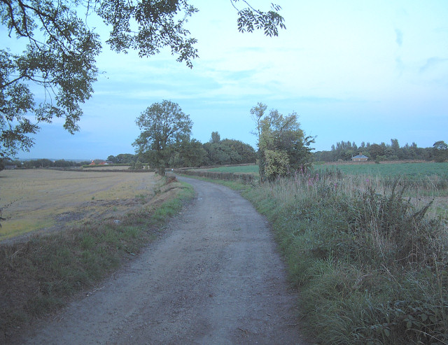 Footpath north west of  Winstanley Hall
