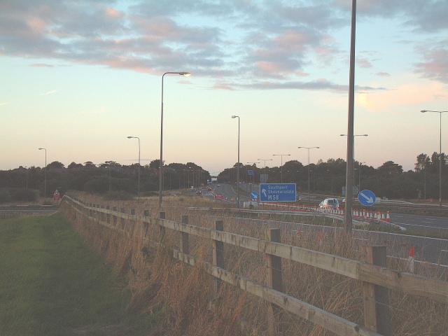 M6 junction 26