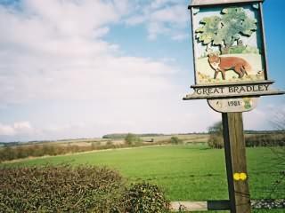 Great Bradley, Suffolk. Village Sign