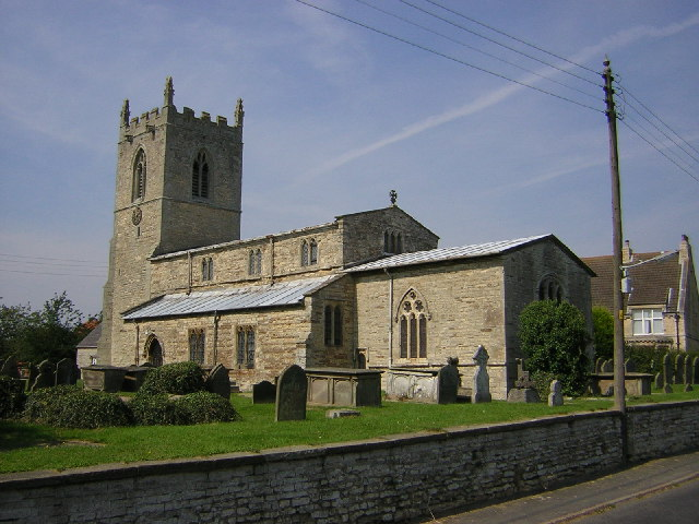 St.John the Baptist's church, Northorpe, Lincs.