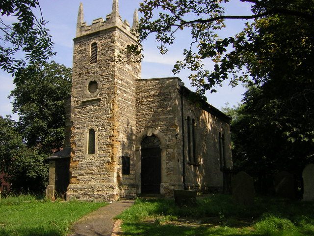 All Saints' church, Pilham, Lincs.