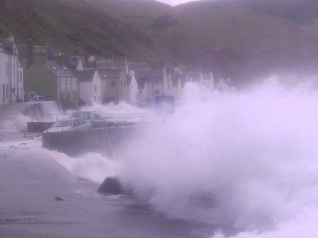 Gardenstown-Too close for comfort!!!!