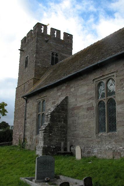 Monnington-on-Wye Church