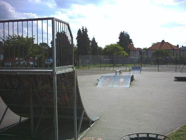 Skate park, Royston Park, Sutton.