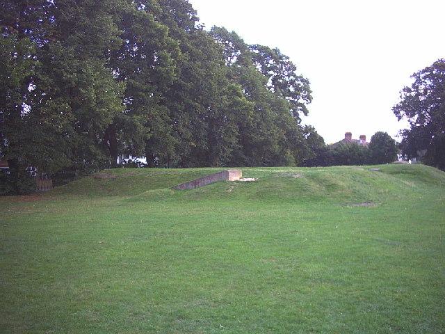 Air raid shelters, Wrythe Recreation Ground, Carshalton.