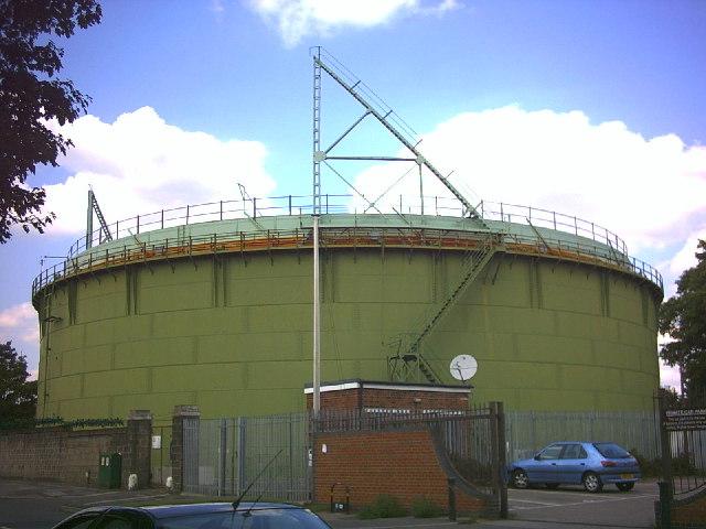 Gasholder, Wrythe Lane, Carshalton (B278).