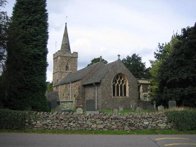 Parish church, Newton Linford