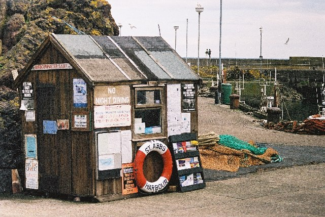 St Abbs Harbourmaster's Hut
