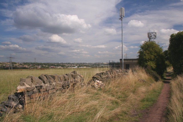 Transmitter, Delf Hill