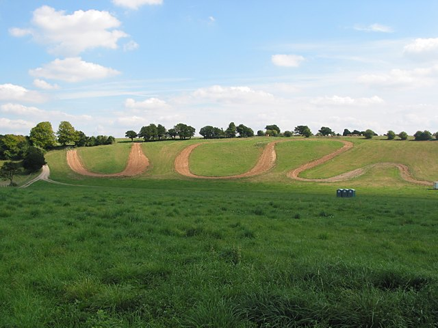 Motocross track at Whaddon Farm