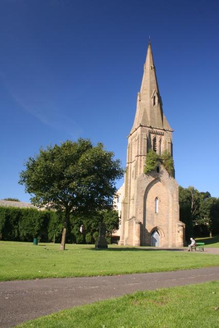 Church spire, King Cross