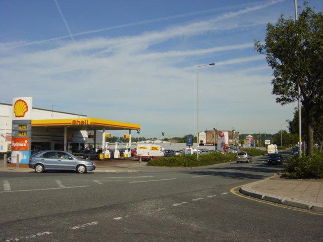 Petrol Station, Speke Hall Road