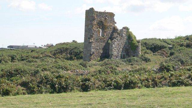 Derelict Mine Buildings near Trevega