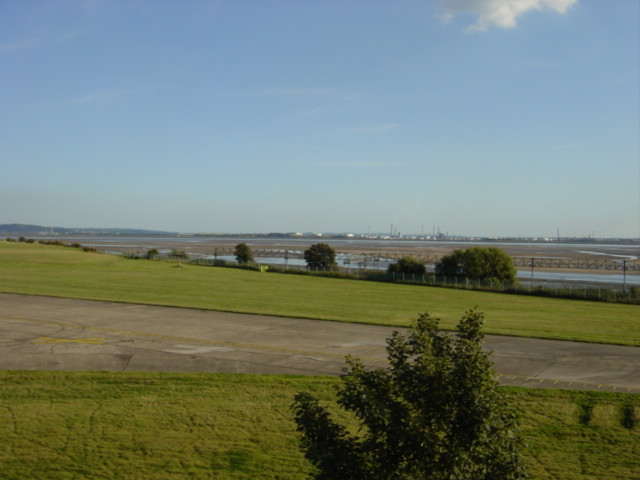 View of the Mersey from Speke Hall