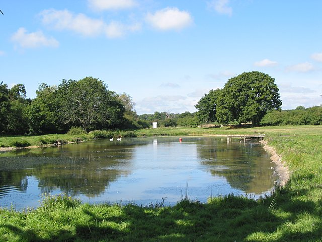Pond at Marwell Activity Centre