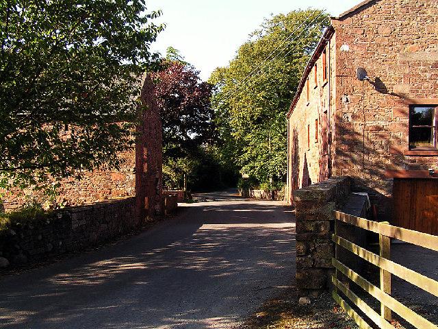 The village of Haile, West Cumbria