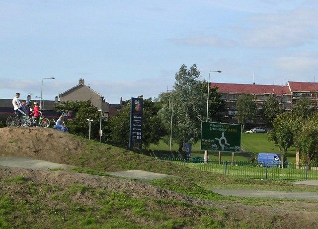 Clydebank BMX Race Track