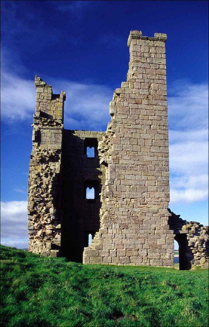 Liburn Tower, Dunstanburgh Castle, Northumberland