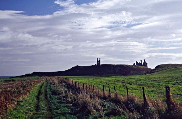 Pathway to Dunstanburgh Castle, Northumberland