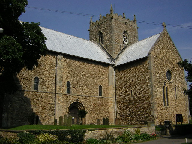 St.Mary's church, Stow, Lincs.
