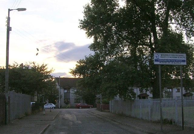 The Road into Drumchapel
