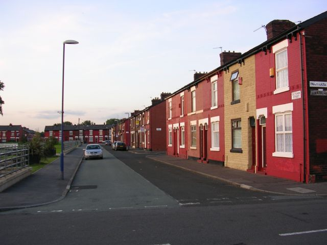 Elysian Street , Openshaw
