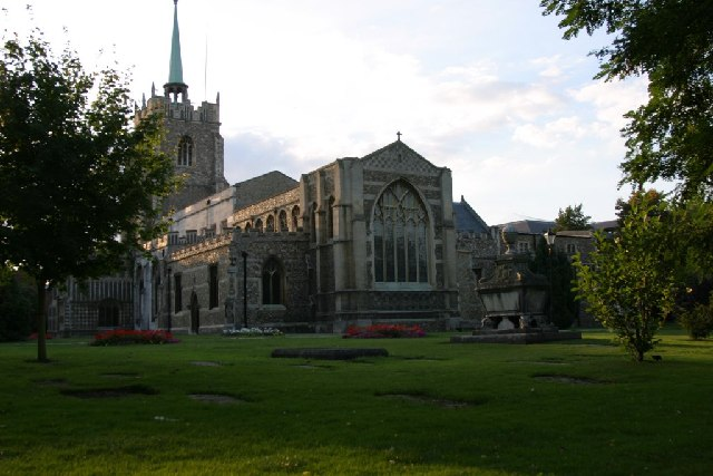 The Cathedral Church of St Mary, St Peter, and St Cedd Chelmsford
