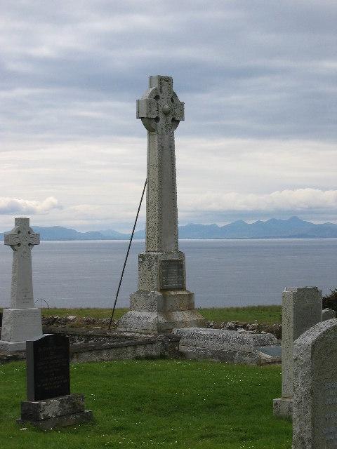 Flora MacDonald Monument, Kilmuir Cemetery, Skye