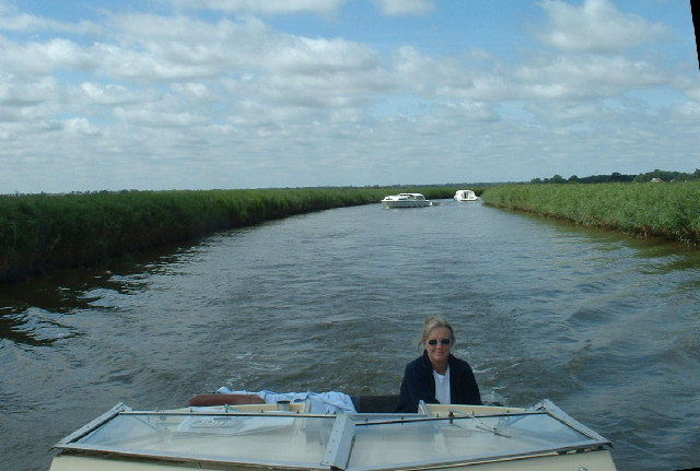 Cruising on the River Bure