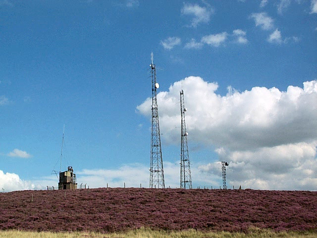 Whetstone Gate radio masts