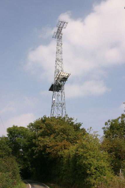 Marconi Radar Tower  U00a9 Andrew Pickess Cc 2 0