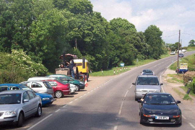 The A28 near Rolvenden