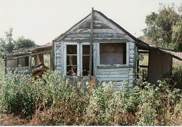 Remains of a Holiday Home - Maylandsea
