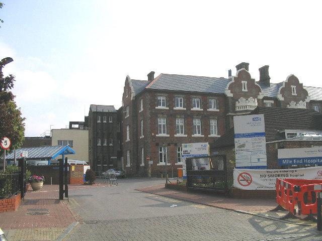 Mile End Hospital, East London