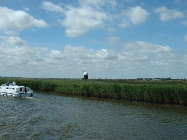 The River Bure at Runham