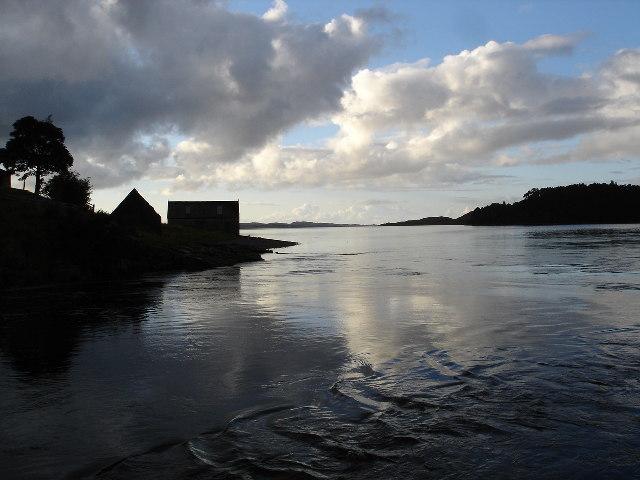 River Ewe meet Loch Ewe