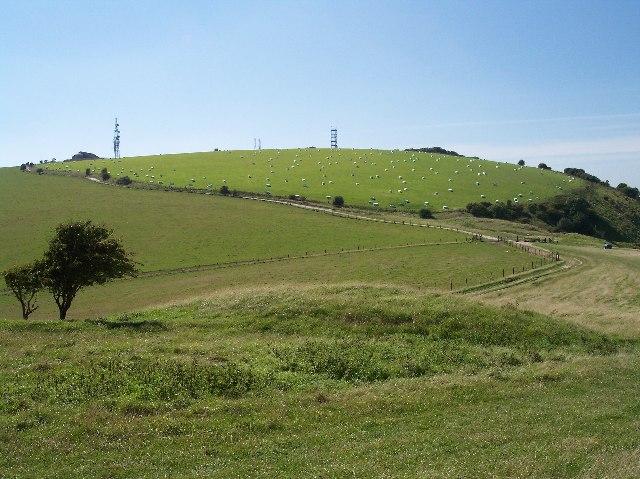 Tumulus, Edburton Hill, Sussex