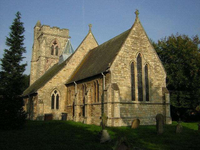 St.Lawrence's church, Skellingthorpe, Lincs.