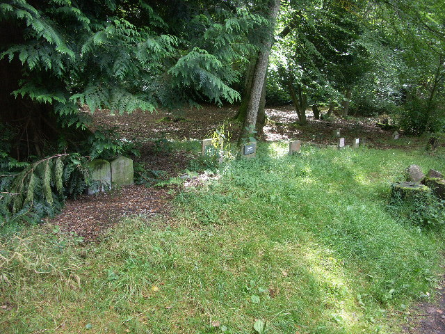 Pet Cemetery near Craig Dunain Hospital
