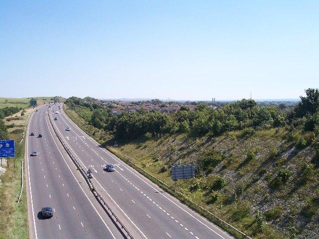 A27 through Mill Hill