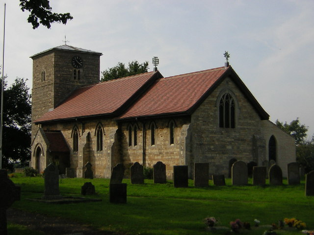 All Saints' church, Eagle, Lincs.
