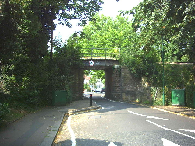 Demesne Road railway bridge.